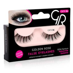 False Eyelashes marki Golden Rose