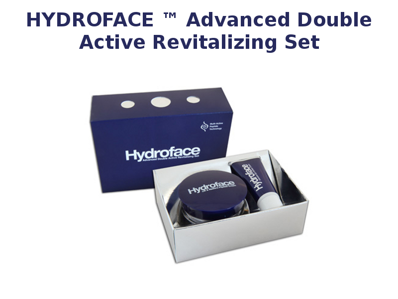 Hydroface ™ Advanced Double Active Revitalizing Set