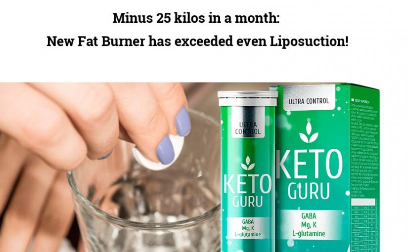 Minus 25 kilos in a month: New Fat Burner has exceeded even Liposuction!