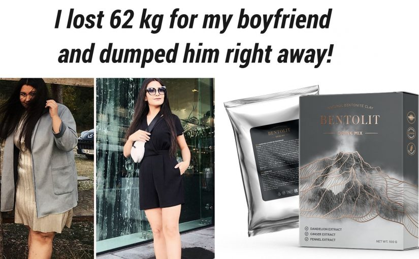 I lost 62 kg for my boyfriend and dumped him right away!